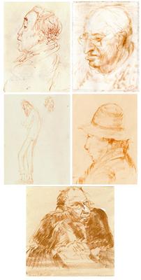 Pettinelli Diego - Ritratti caricaturali