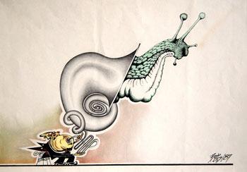 Bodis Dezideriu - Wind Instrumental Snail