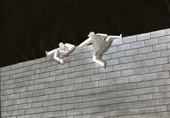 L'Ubormir Kotrha - The wall
