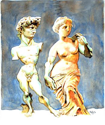 Alfredo Sabat (Argentina) - David & Venus