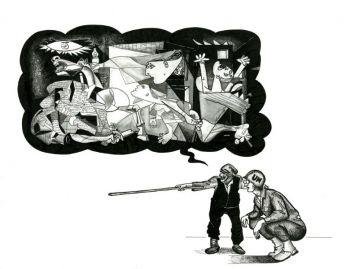 Giuseppe Carzedda - La guerre – toujours la meme chose