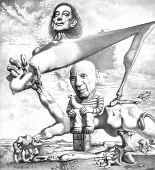 An Yong Chen - Salvador Dalì and Pablo Picasso
